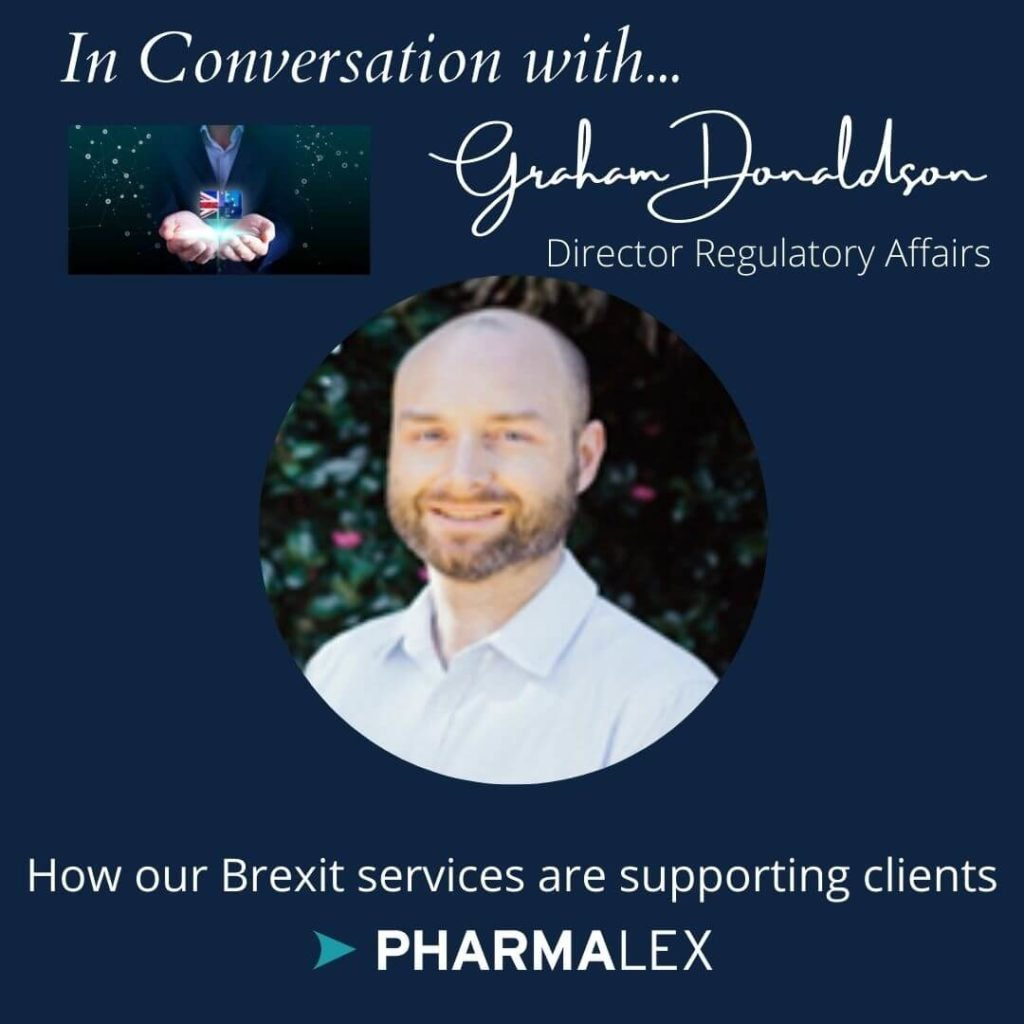 Graham Donaldson Director Regulatory Affairs pharmalex ireland